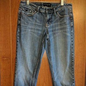 size 2 banana republic crop jeans
